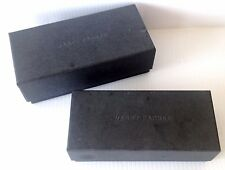 Lot 2 WARBY PARKER Eyeglass Sunglass Empty Grey Boxes FREE US SHIPPING! C1