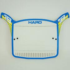 Haro b1 bmx number plate, oldschool gt,redline,hutch,se,mongoose,dyno,odyssey