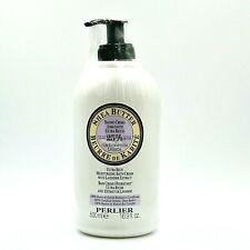 Perlier Shea Butter Lavender Extract Moisturizing Bath Cream 16.9 oz Pump Sealed