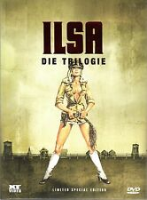 Ilsa Trilogy , 3 Disc - strong limited Mediabook Edition , 100% uncut , new