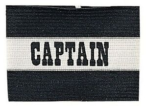 New Champion Adult Senior Soccer Captains Arm Band Fits Most Ages 13 & Up Black