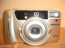 PRAKTICA K300 ZOOM QUARTZ DATE 35MM FILM CAMERA~38-120MM POWER ZOOM LENS (12S12)