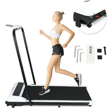 HQ Motorized Electric Folding Treadmill Jogging Running Machine with PAD Holder