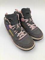 Girl's Nike Air Jordan Spizike GS 2012 Grey Pink Purple Sz 2Y 535708-028
