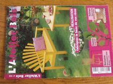$$$ Revue L'atelier Bois N°132 BancChaise WindsorMerisierPlancher en bois