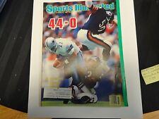 1985 S.I. November 25th Bears vs Cowboys Cover. 44-0