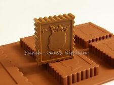 4 +1 Sellos Chocolate Candy Cookie Bakeware del silicón Molde Cake Decorating Pan