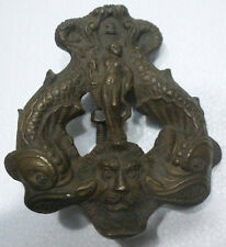 Rare Knocker Antique Bronze Haute-époque