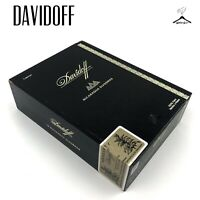 Davidoff Nicaragua Diademas Wooden Cigar Box Handmade In The Dominican Republic