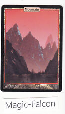 x1 MOUNTAIN Unhinged (Unglued 2) 2004 - Full Art Textless - EX/NM MAGIC MTG★★★★