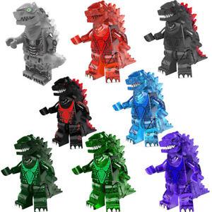 Godzilla Movie Character Building Block Model Monster Action Figure Toys