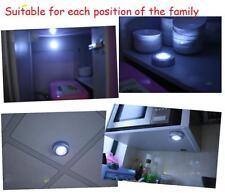 1X 3 LED Lampe Light Mur Cuisine Cabinet Penderie Armoire Eclairage Tap Toucher