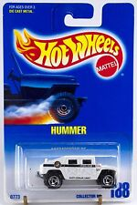 Hot Wheels Collector #188 Hummer White SB's Wheels Police New On Card
