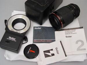 Vivitar Series 1 105mm f2.5 1:1 Macro Canon FD mount  #22902182