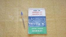 Teams A-B Birmingham City FA Cup Final Football Programmes