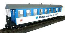 Train Line45 Personenwagen Wangerooge liest NWZ, 3330701, 9 Fenster, Spur G