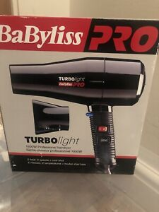Babyliss Pro Turbo Light 1600w Professional Hairdryer