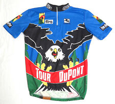 vtg Giordana 1994 TOUR DUPONT EAGLE Cycling Jersey LARGE race event 90s L
