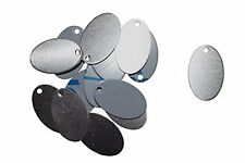 "Aluminium 14 Ga 7/8"" X 1 3/8""  Oval Stamping Blank (RMP) [50 Pack]"
