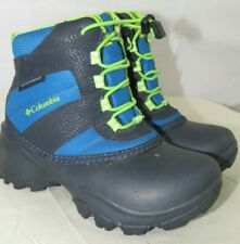 Columbia Rope Tow III Waterproof Snow Boots Little Kids Youth Size 12 US