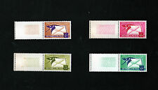 1960 RVN South Vietnam Full Set Stamp MNH Air Mail Post Office Color Check Tabs