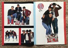 BEASTIE BOYS - 1987 UK Magazine centrefold poster
