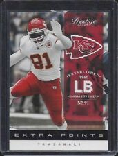 TAMBA HALI 2012 PRESTIGE EXTRA POINTS BLACK PARALLEL #D 8/10