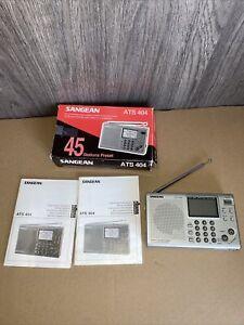 ( Like New)Sangean ATS 404 Portable Digital World Band Radio Receiver