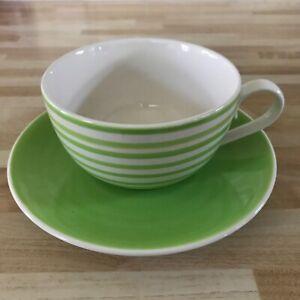 Whittard Striped Cup & Saucer