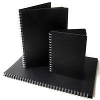 Black Pages Scrapbook, A3/A4/A5, Portrait, Photo Album, Display Sketchbook Large