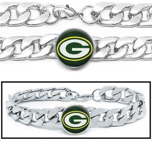 Charm Bracelet Infinity Love Football Bracelet Green Bay Packers Sports Fans Wrap Bracelets Charm Handmade Sports Fans