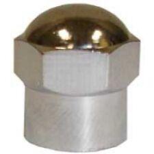 The Main Resource TI108 Chromed Plastic Sealing Hex Cap, 100 Per Box for TPMS
