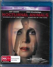 Nocturnal Animals Blu Ray New (Amy Adams,Jake Gyllenhaal) Region B Free Post