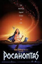 Walt Disney's Pocahontas movie poster (a)  : 11 x 17 inches