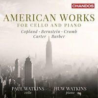 Paul Watkins - American Cello/Piano Works [Paul Watkins; Huw Watkins] [CD]