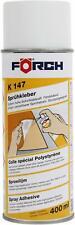 Sprühkleber K147 Förch 400ml Kraftkleber Karosserie Kunstleder Stoff  64004010