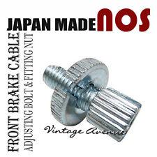 HONDA XL185S XL200 XL250 XL350 XL500 CABLE ADJUSTING BOLT & NUT *JAPAN*