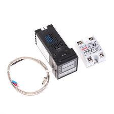 100 240v Digital Pid Temperature Controller Max40a Ssr K Thermocouple Probe