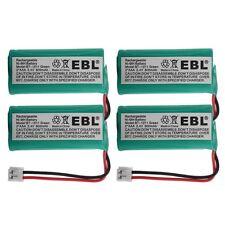 4x 2.4v 800mAh Home Phone Battery for Vtech 89-1326-00-00 89-1330-00-00 DECT 6.0