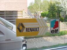 renault 16 R16 12 6 4 15 17 20 30 alpine autocollant renault elf.