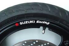Suzuki Racing Rueda Llanta Stickers Calcomanías Gsxr Gsxf SV