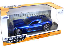JADA 97468 2009 CHEVROLET CORVETTE STINGRAY CONCEPT 1/24 DIECAST MODEL CAR BLUE
