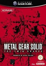 Metal Gear Solid The Twin Snakes - Game Cube - Nintendo - PAL ITA USATO #NSF3