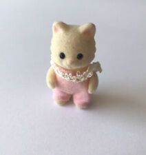 Sylvanian Families ~ Chantilly Cat Baby Standing Girl