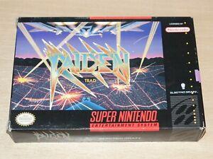 Super Nintendo / USA SNES - Raiden Trad - Arcade Shoot-em-up - Retrogames.co.uk