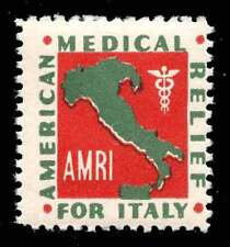 USA Charity Stamp - American Medical Relief for Italy - 1942 - (Mos#4610.01.2)