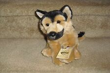 WEBKINZ SIGNATURE GANZ GERMAN SHEPHERD PLUSH DOG NEW WITH TAG CODE SEALED