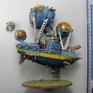 ARKANAUT FRIGATE Plastic Kharadron Overlords Army Painted Age of Sigmar 89