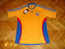 Romania Soccer Jersey Adidas Top Football Shirt Rumania Maglia Trikot Maillot L