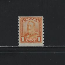CANADA - #160 - 1c KING GEORGE V SCROLL ISSUE COIL MINT STAMP (1929) MNH